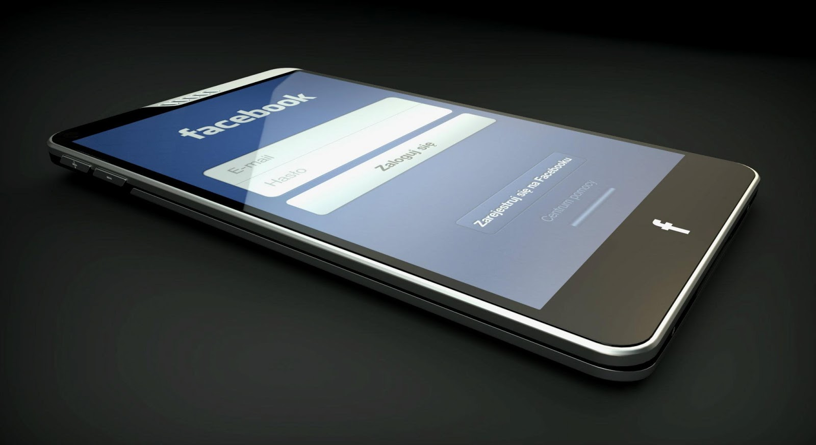 facebook phone, mockup