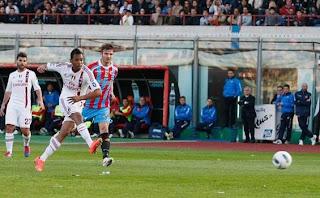 Catania vs AC Milan