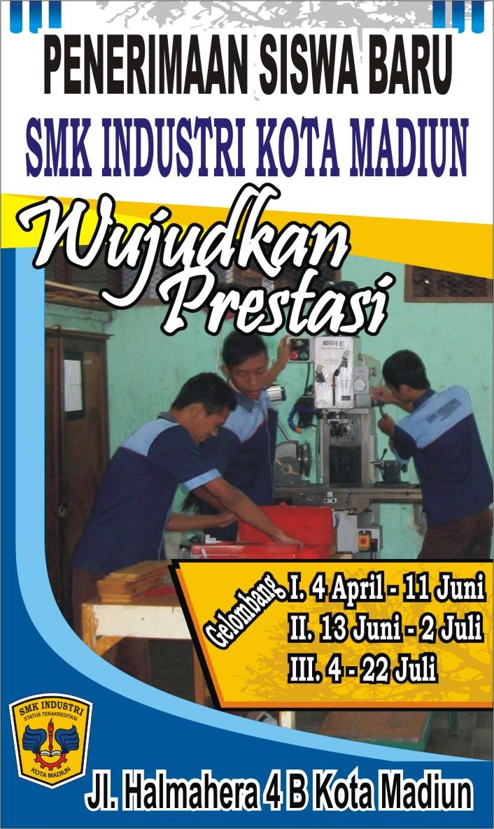 brosur penerimaan siswa baru smk industri madiun