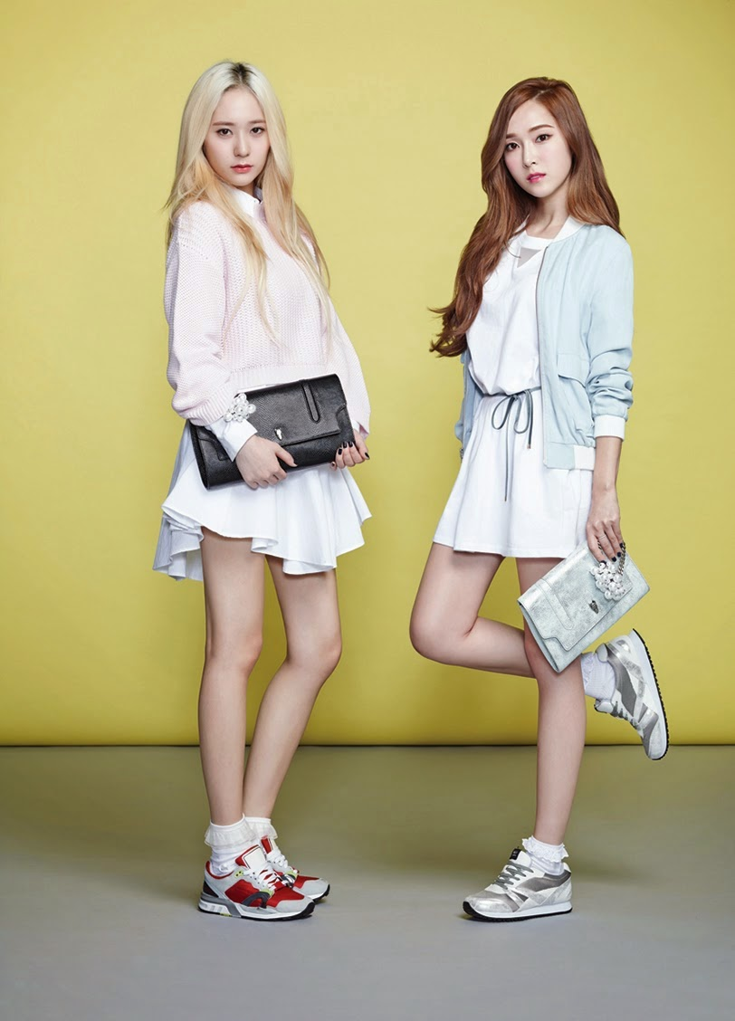 My SNSD: [PHOTOS] Jessica and f(x) Krystal for Lapalette's ... F(x) Krystal And Jessica