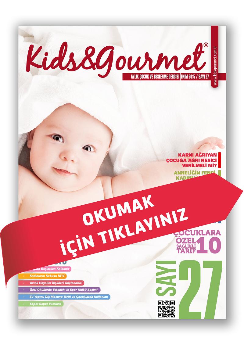 KİDS&GOURMET DERGİSİ