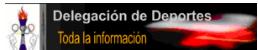 DELEGACIÓN DEPORTES