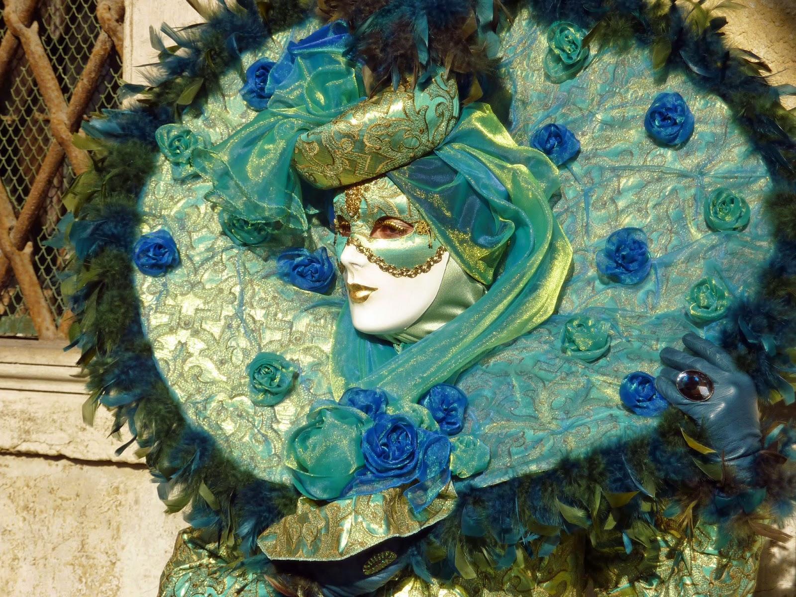 turquoise masquerade masks