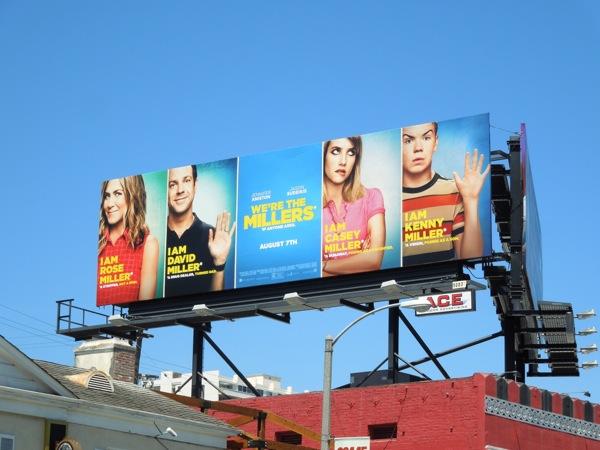 We're The Millers billboard