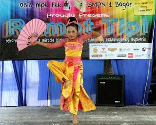 Semarak HUT SMPN 1 Kota Bogor