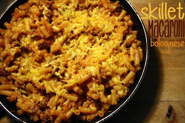 Skilled Macaroni Bolognese with Anyonita Nibbles