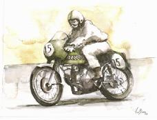 "Harley Davidson ""Ala Verde"", 1963"
