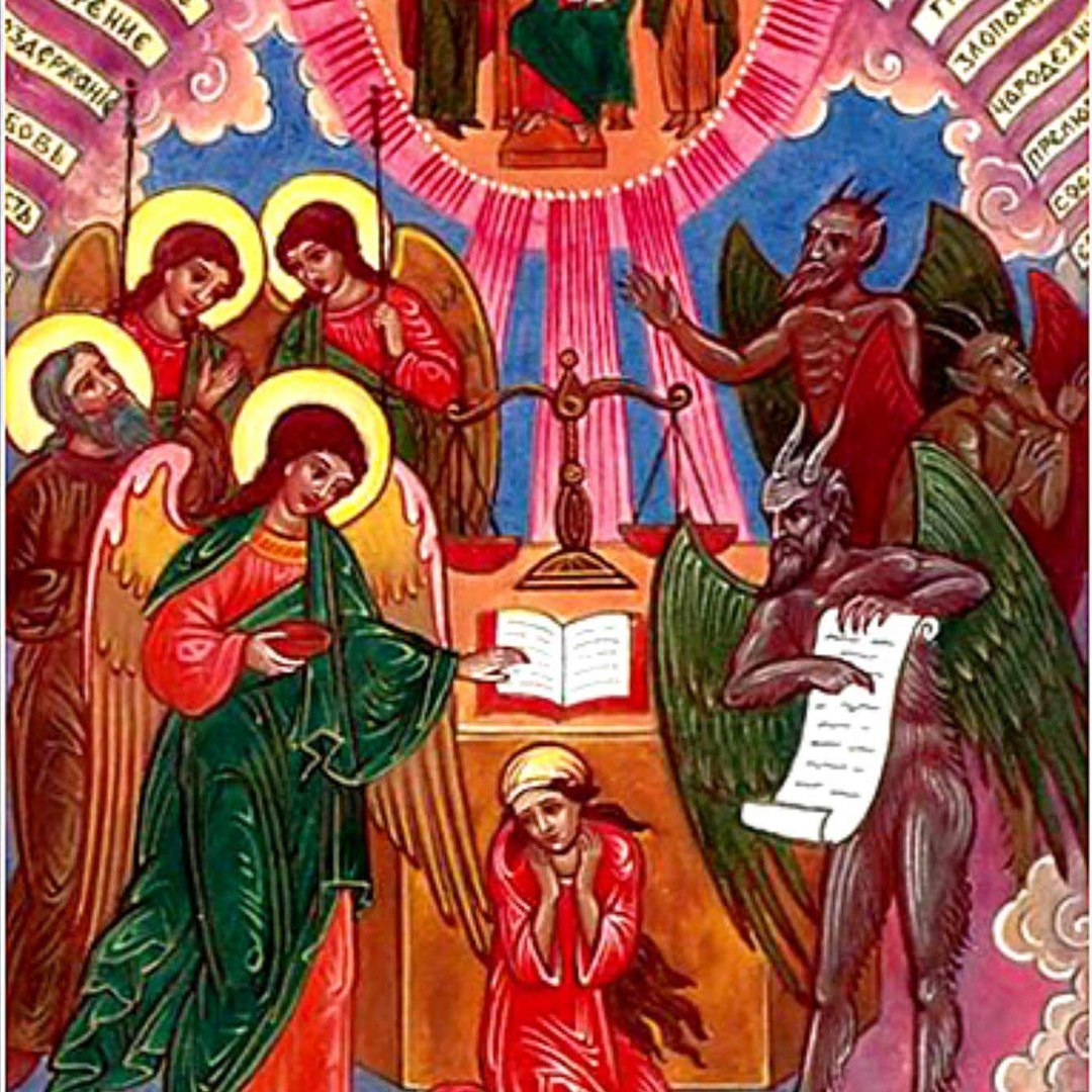 when we are baptised,we take for the angel of god,with us ,until we are dead,on the other side the