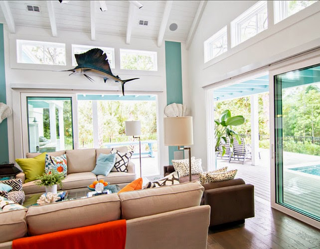 Home Decoration 23 Transitional Beach House