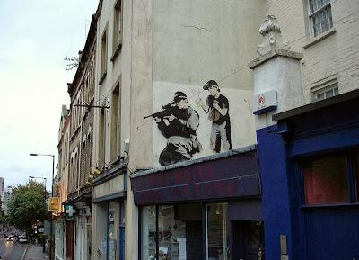 Bansky Graffiti in Bristol
