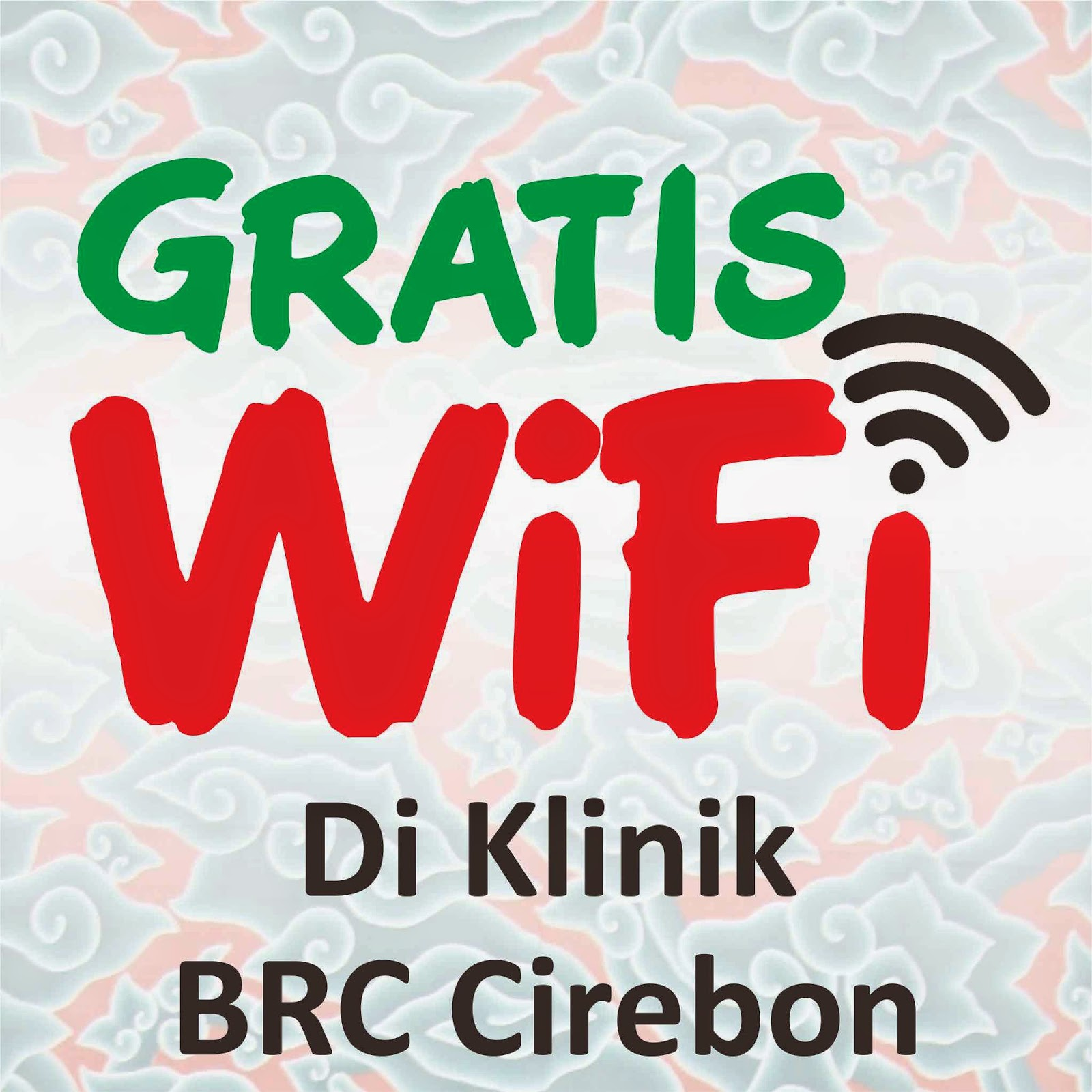 Fasilitas Internet Wifi Gratis Klinik Bekam Ruqyah Syariah di cirebon indramayu kuningan majalengka