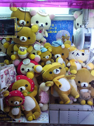 CLICK  PHOTO TO SEE UFO XL RILAKKUMA PLUSH COLLECTION ^^