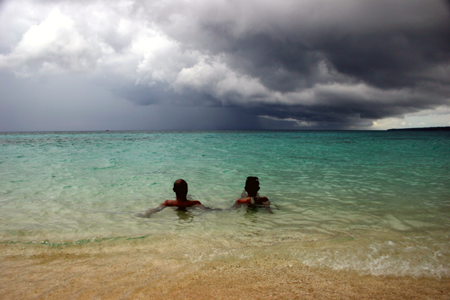 Beach With 2 People