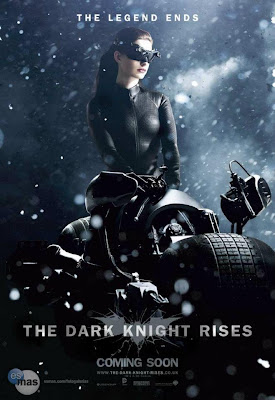 Anne Hathaway as Catwoman poster #2 from The Dark Knight Rises