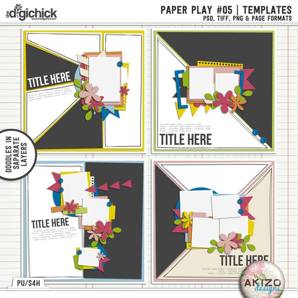 Paper Play 05-2 by Akizo Designs