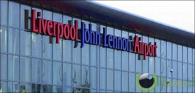 Liverpool John Lennon Airport, Inggris