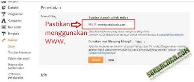 Cara Merubah Blog Menjadi Website