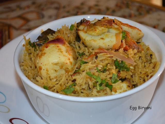 Egg Dum Biryani, layering, Hyderabadi biryani, mughal biryani