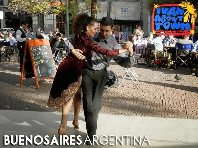Argentine tango in Barrio San Telmo, Buenos Aires