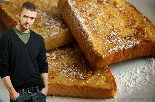 Justin Timberlake's Unbeaten French Toast