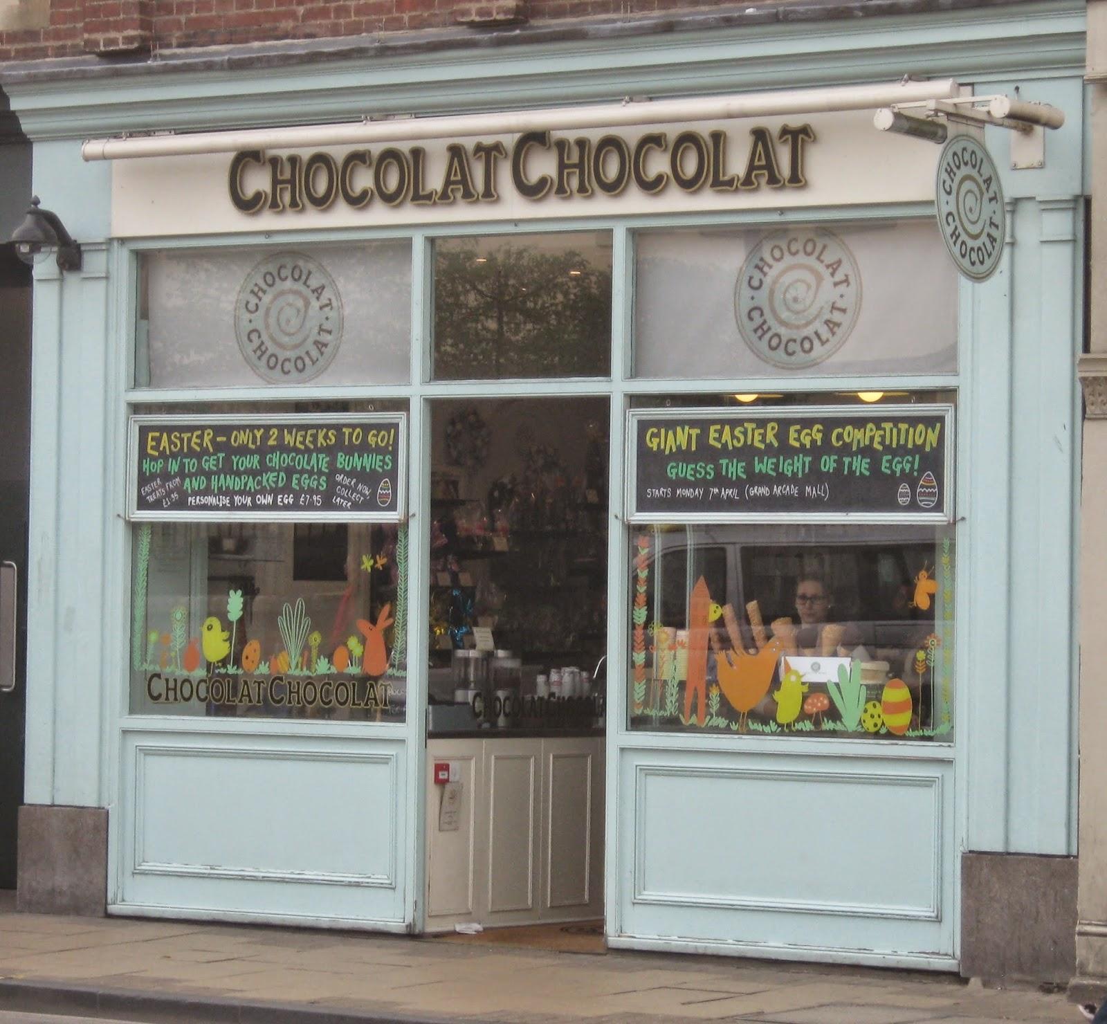 Chocolat Chocolat shop front