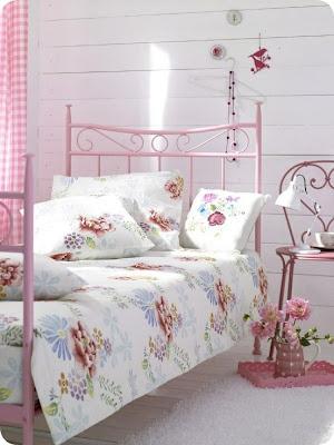 kobieca sypialnia, kobiece królestwo, pokój dla kobiety, Pomysł na..., romantyczna sypialnia, różowa sypialnia, sypialnia dla kobiety, bedroom, vintage, romantic, woman, scandinavian,