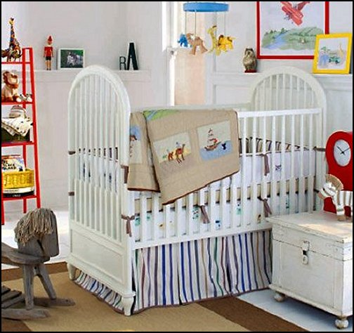 Decorating theme bedrooms maries manor travel theme for World crib bedding