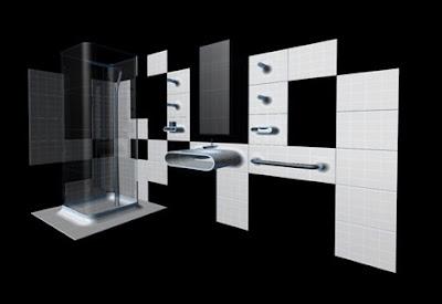 Azulejos modernos para un diseño de baño original