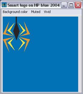 on blue 2004