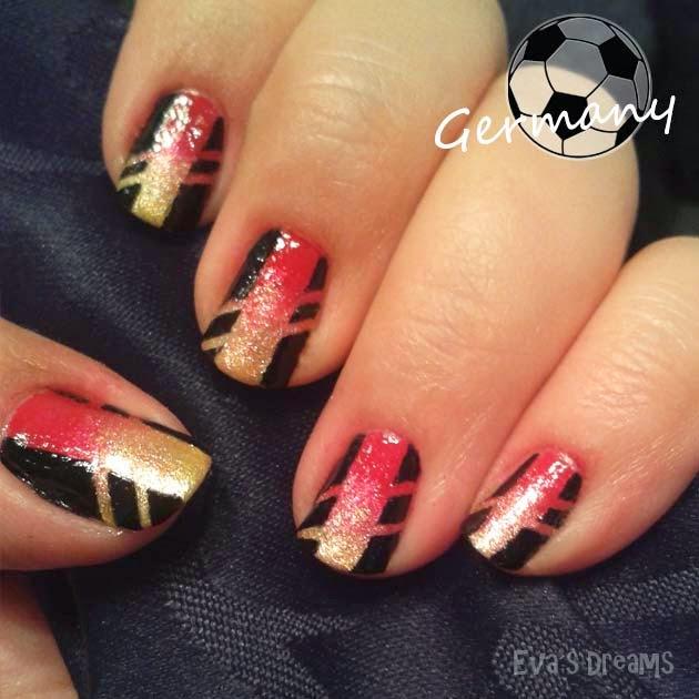 WM Nägel Deutschland - Nail Art Design