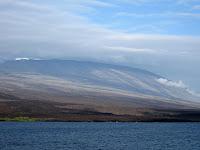 Volcan Wolf Isabela Island Galapagos