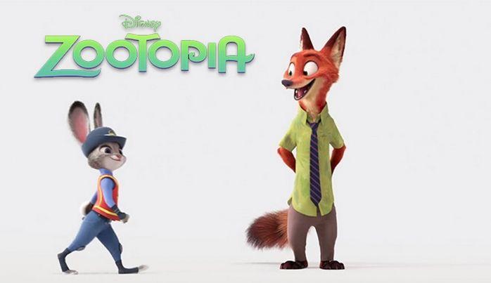 Corto Zootopia de Disney.