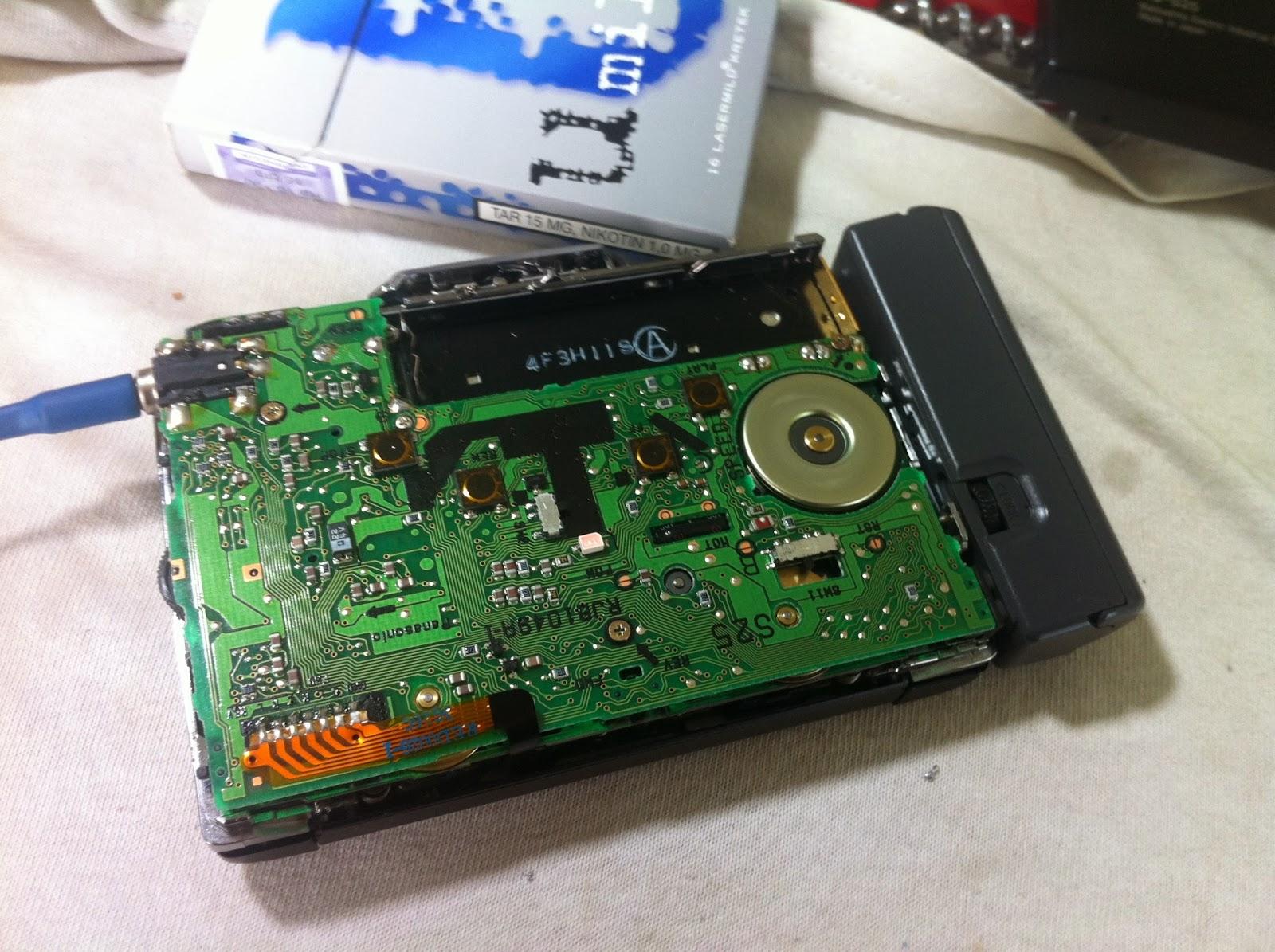 vintage audio panasonic rq s 25 portable cassette player