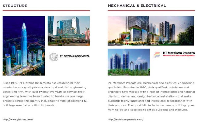 Structure, Mechanical & Electrical Consultant Southeast Capital Jakarta