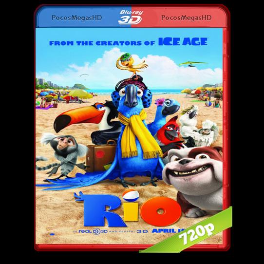 Rio(2011)BrRip 720p 3D SBS Castellano AC3