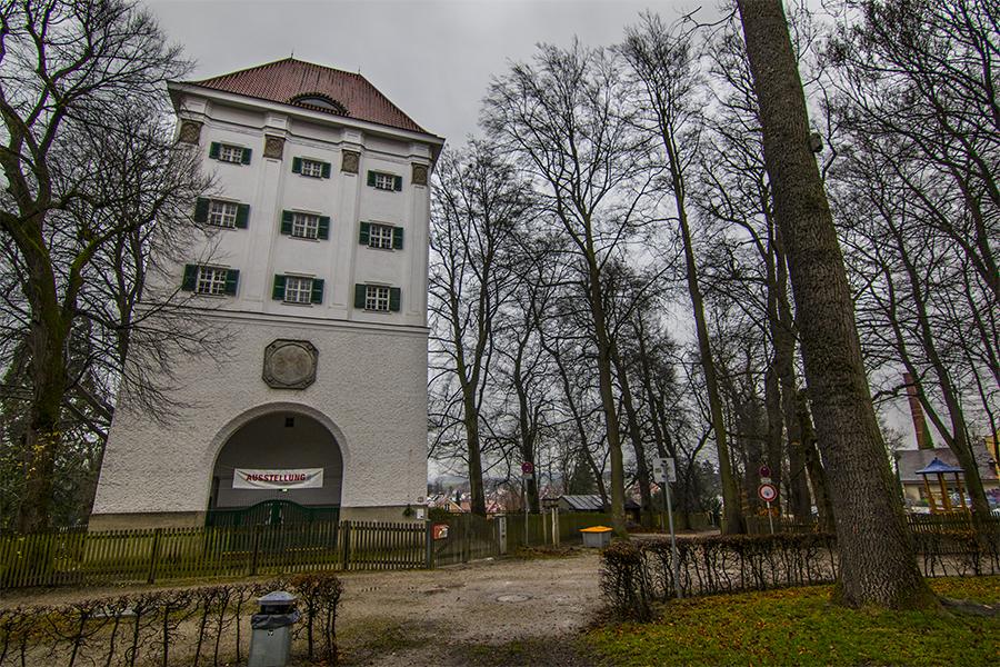 Torre de Agua de  Dachau, Alemania
