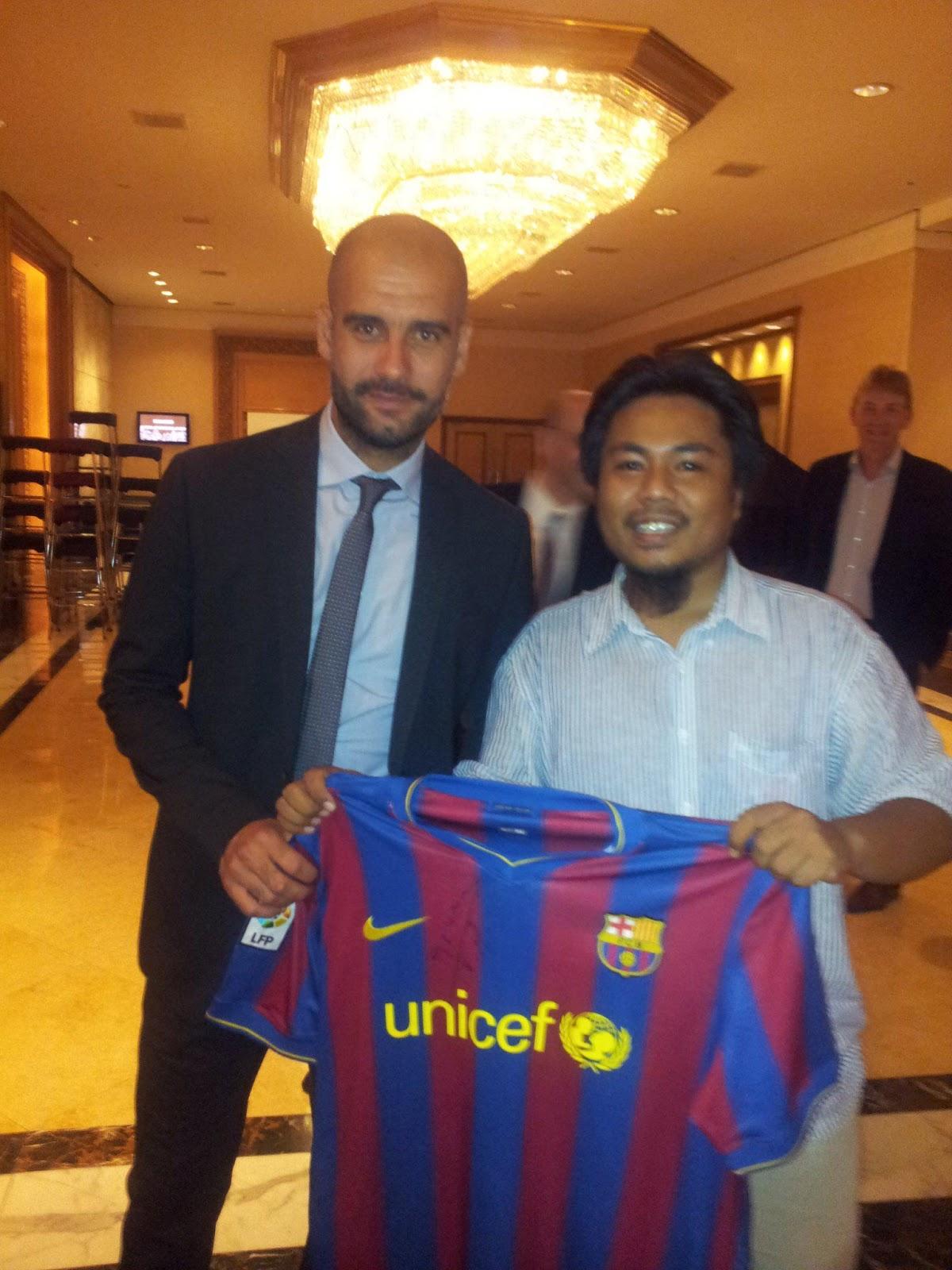 Guardiola Barcelona Jersey Pep Guardiola Signed Barcelona