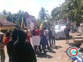 Front Mahasiswa Wera Anti  Tambang Desak Cabut KP Pasir Besi