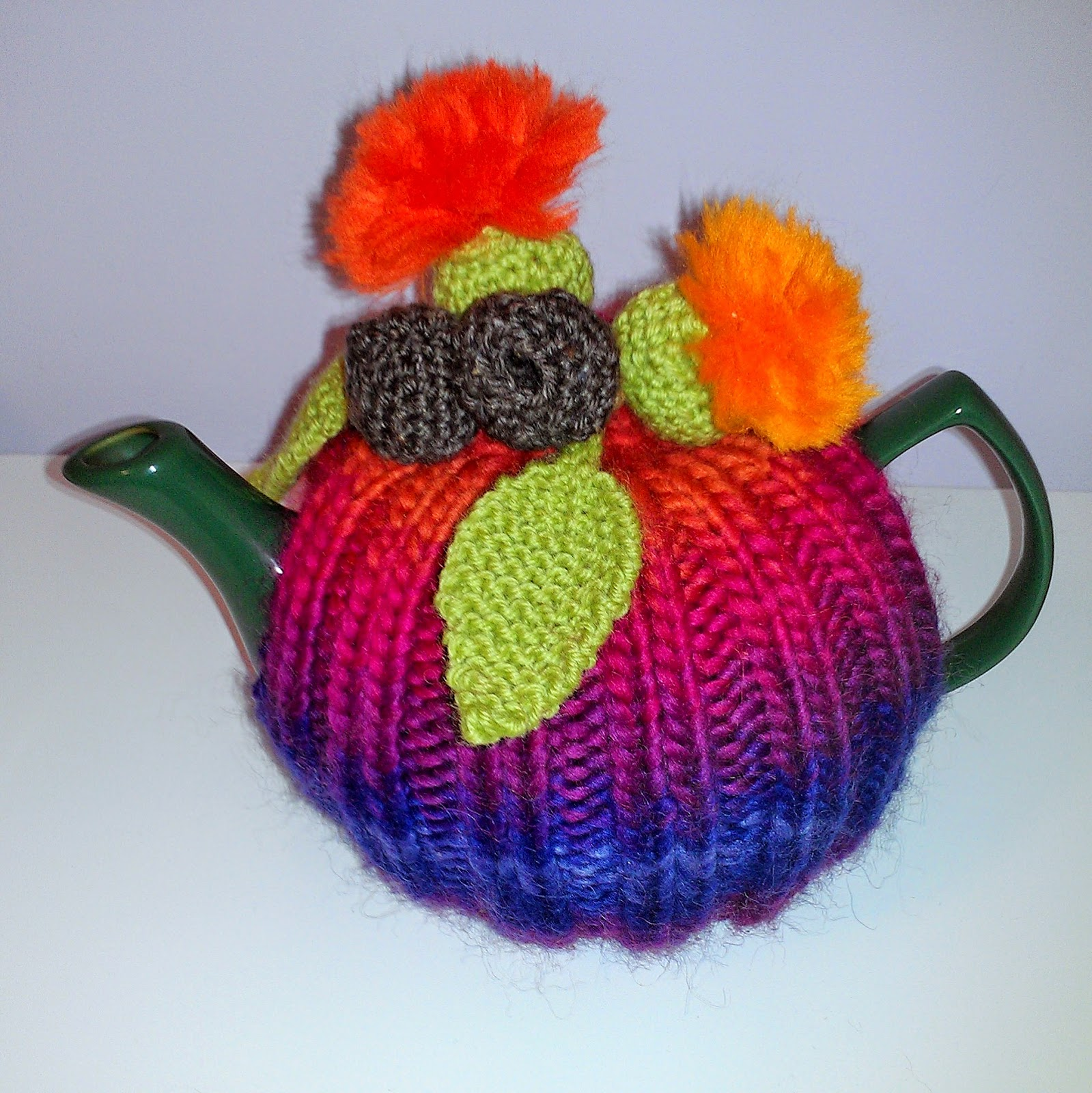 Craft a cure for cancer free tea cosy patterns: Flowering gum cosy