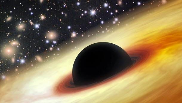 Encontrado buraco negro com 12 bilhões de vezes a massa do Sol