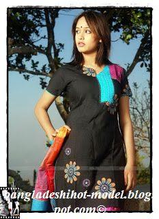 Bangladeshi model Ahona