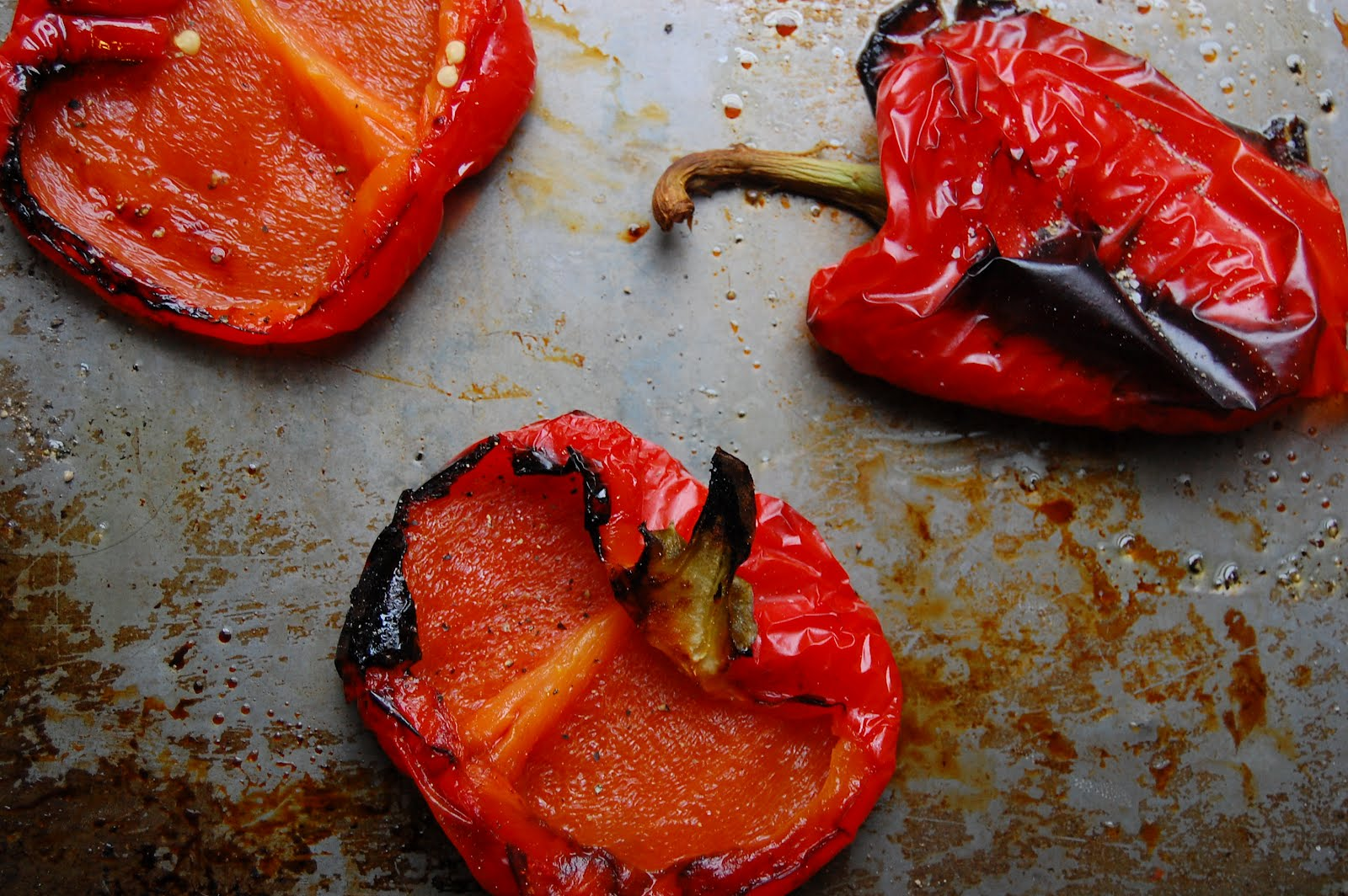 palate/palette/plate: Roasted Red Peppers + A Summery Soup