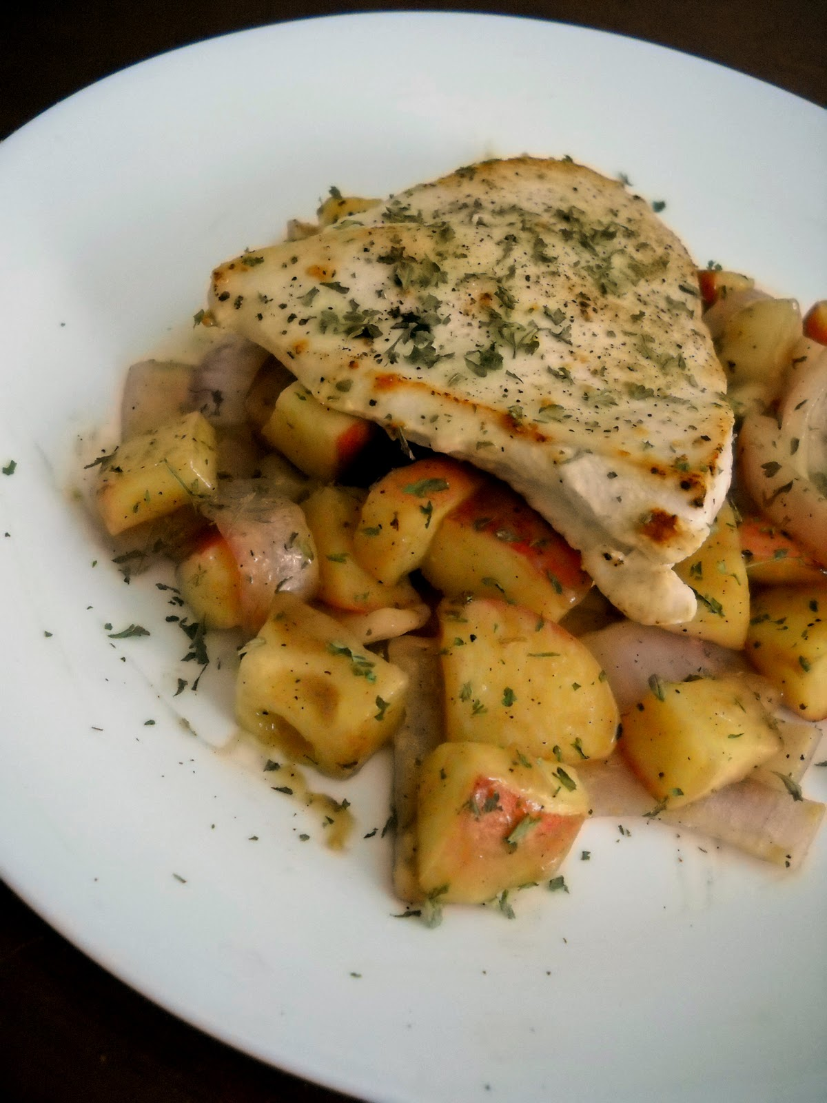 Chicken And Apples In Honey Mustard Sauce Recipes — Dishmaps