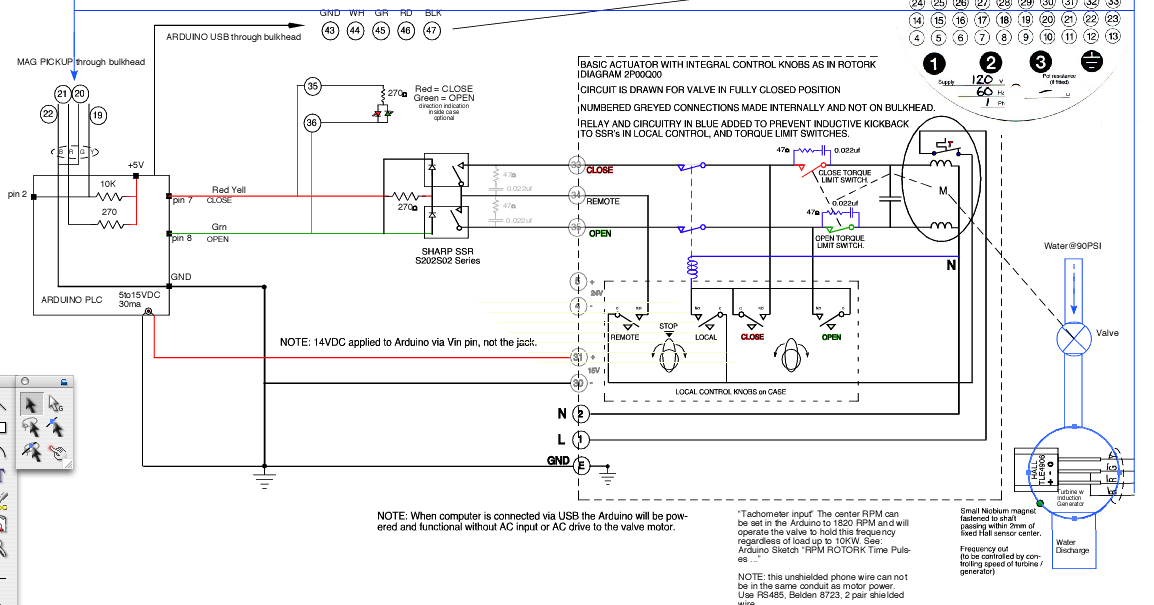 Rotork%2BArduino%2Bcontroller diagrams 23203408 rotork valve wiring diagrams rotork wiring rotork wiring diagram at bayanpartner.co