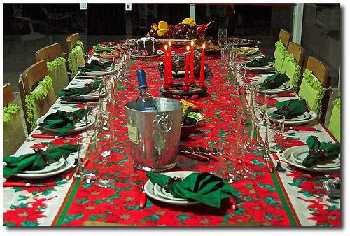 decoracao cozinha tradicional:Nutricionista Lícia Vendruscolo: Decoração da mesa de Natal