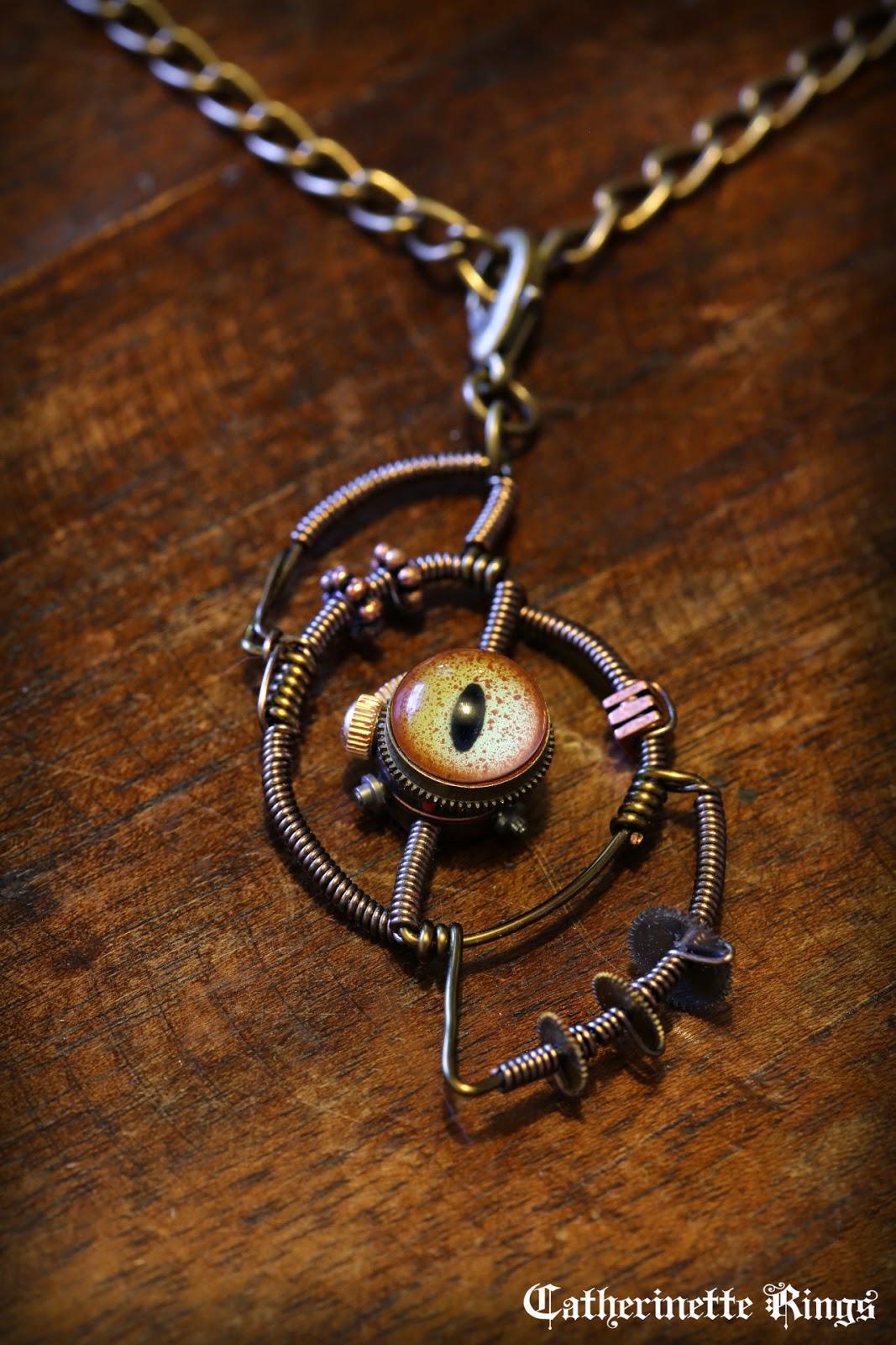 Steampunk Jewelry Rings