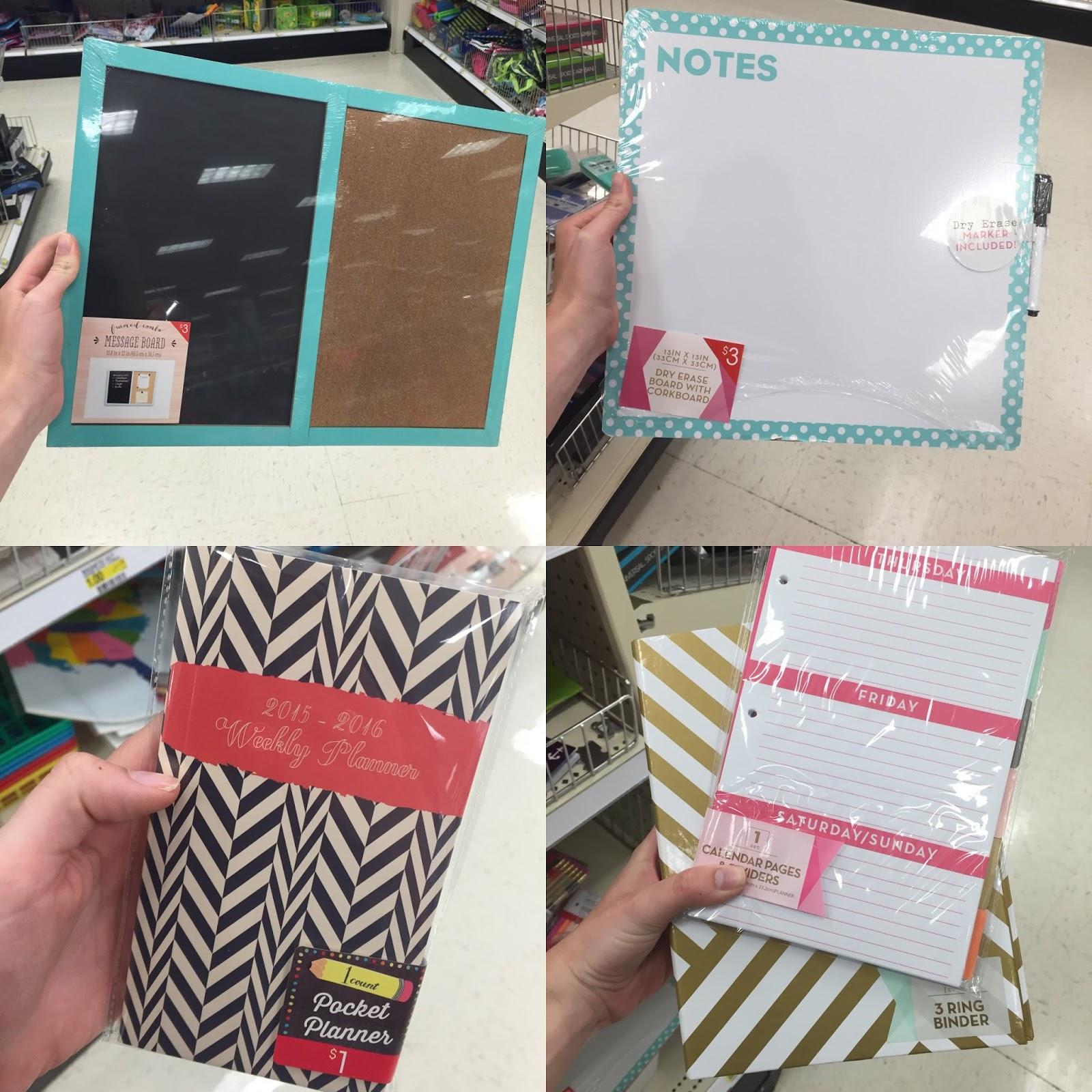 Calendar Planner Target : Dollar spot dorm shopping seeking the south