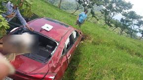 RESIDENTE COATEPECANA SUFRE FUERTE ACCIDENTE EN CARRETERA A MISANTLA