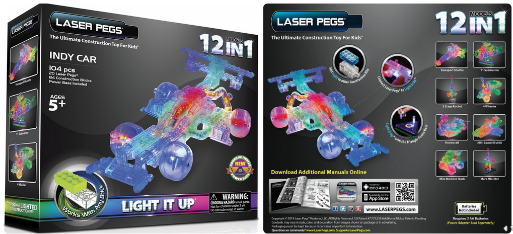 laser pegs 6 in 1 instructions