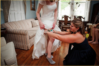university of miami hurricanes wedding garter